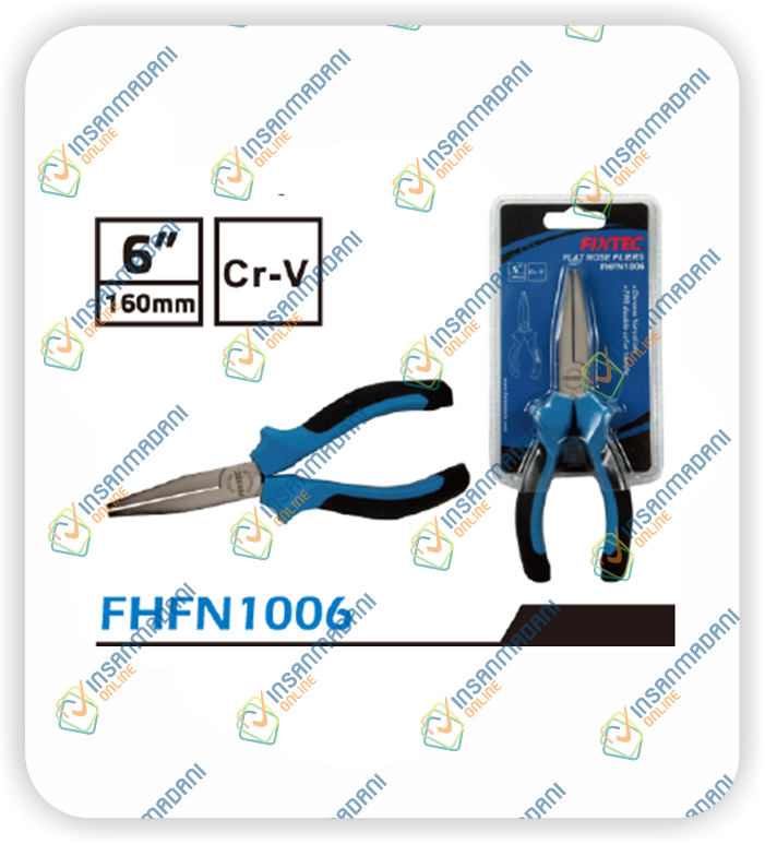 Flat nose pliers 6