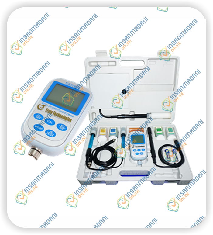 Portable pH/ORP/Conductivity/DO Meter